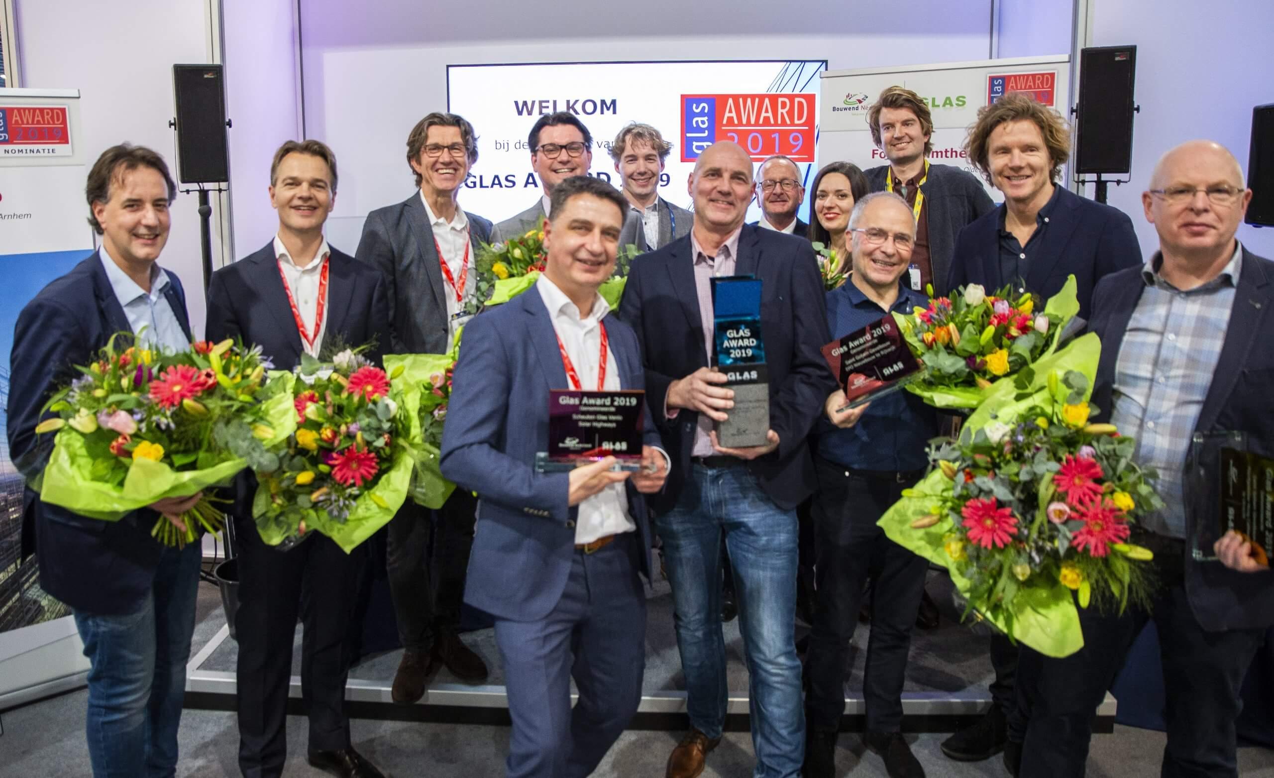 Uitreiking Glas Award verzet naar 16 september tijdens BouwBeurs